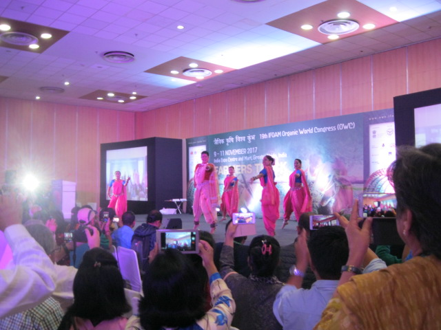Dancers open the OWC