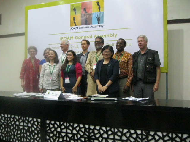New World Board with Peggy Miars third from left