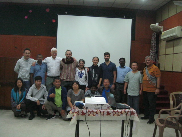 Pre-conference on CSA in Asia, group photo
